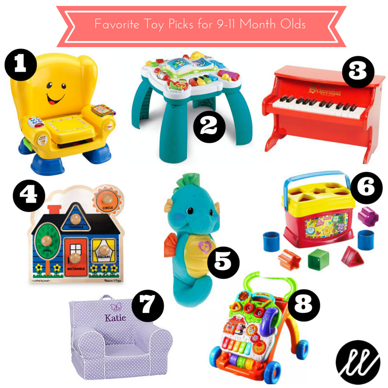 Gift Ideas For 8 Month Old Baby Girl  January Favorites Toy Picks for 9 11 Month Olds