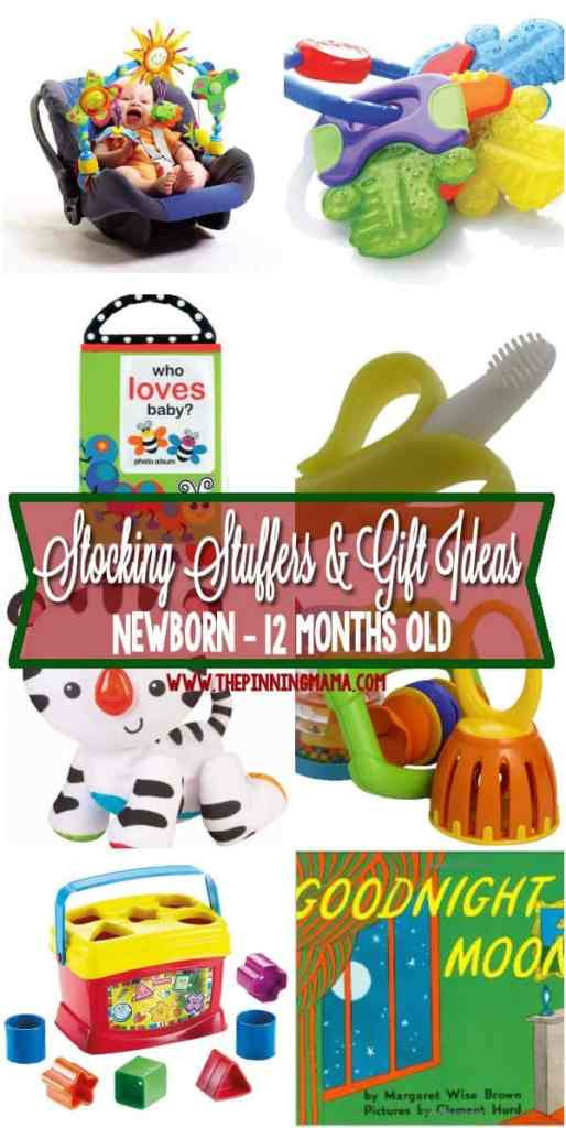Gift Ideas For 8 Month Old Baby Girl  Stocking Stuffers & Small Gifts for a Baby