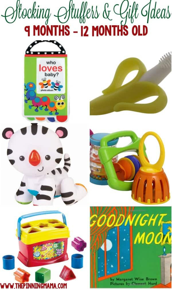 Gift Ideas For 8 Month Old Baby Girl  Stocking Stuffers & Small Gifts for a Baby • The Pinning Mama