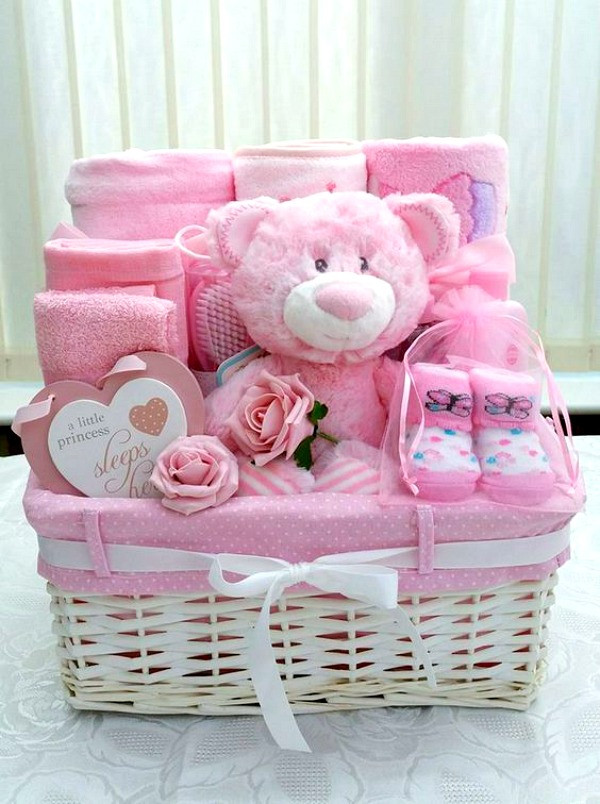Gift Ideas For A Baby Girl  17 Themes For You To Make The BEST DIY Gift Baskets