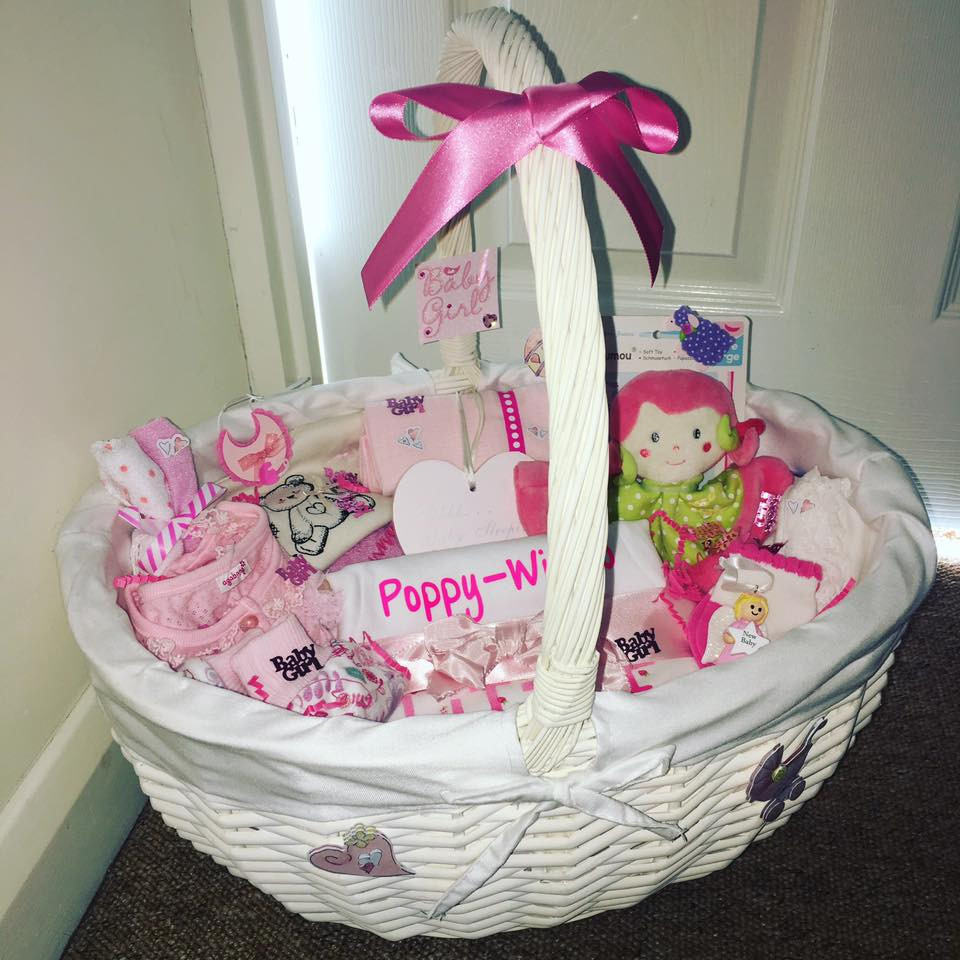 Gift Ideas For A Baby Girl  90 Lovely DIY Baby Shower Baskets for Presenting Homemade