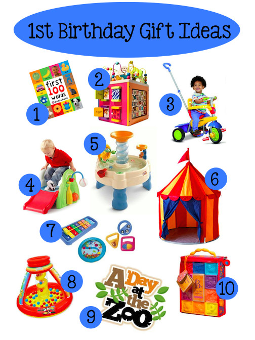 Gift Ideas For Baby First Birthday  Baby's 1st Birthday Gift Ideas