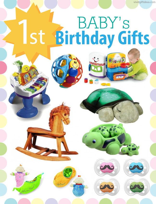 Gift Ideas For Baby First Birthday  1st Birthday Gift Ideas For Boys and Girls Vivid s