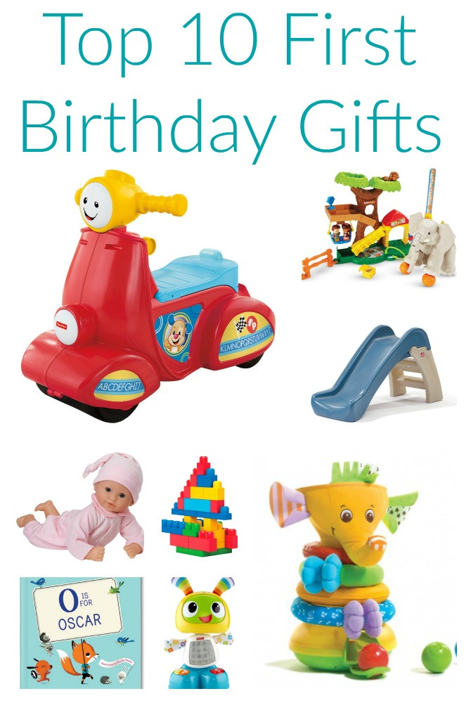 Gift Ideas For Baby First Birthday  Friday Favorites Top 10 First Birthday Gifts The