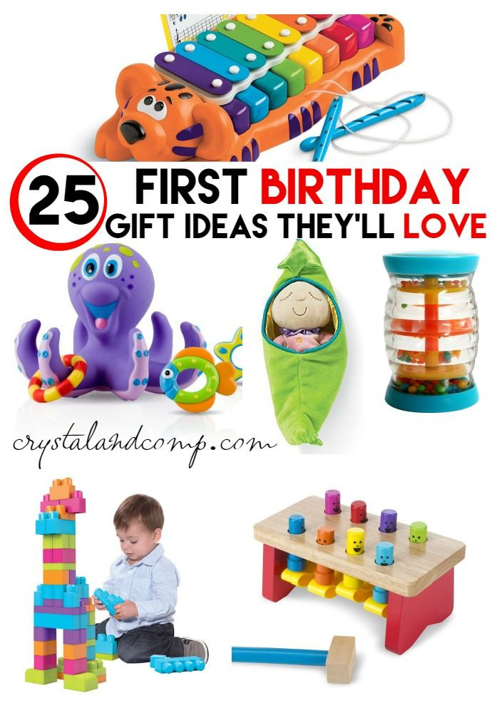 Gift Ideas For Baby First Birthday  Ultimate Gift Idea List for a First Birthday