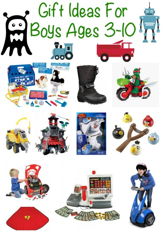 Gift Ideas For Boys Age 5  Christmas Gift Ideas For Boys