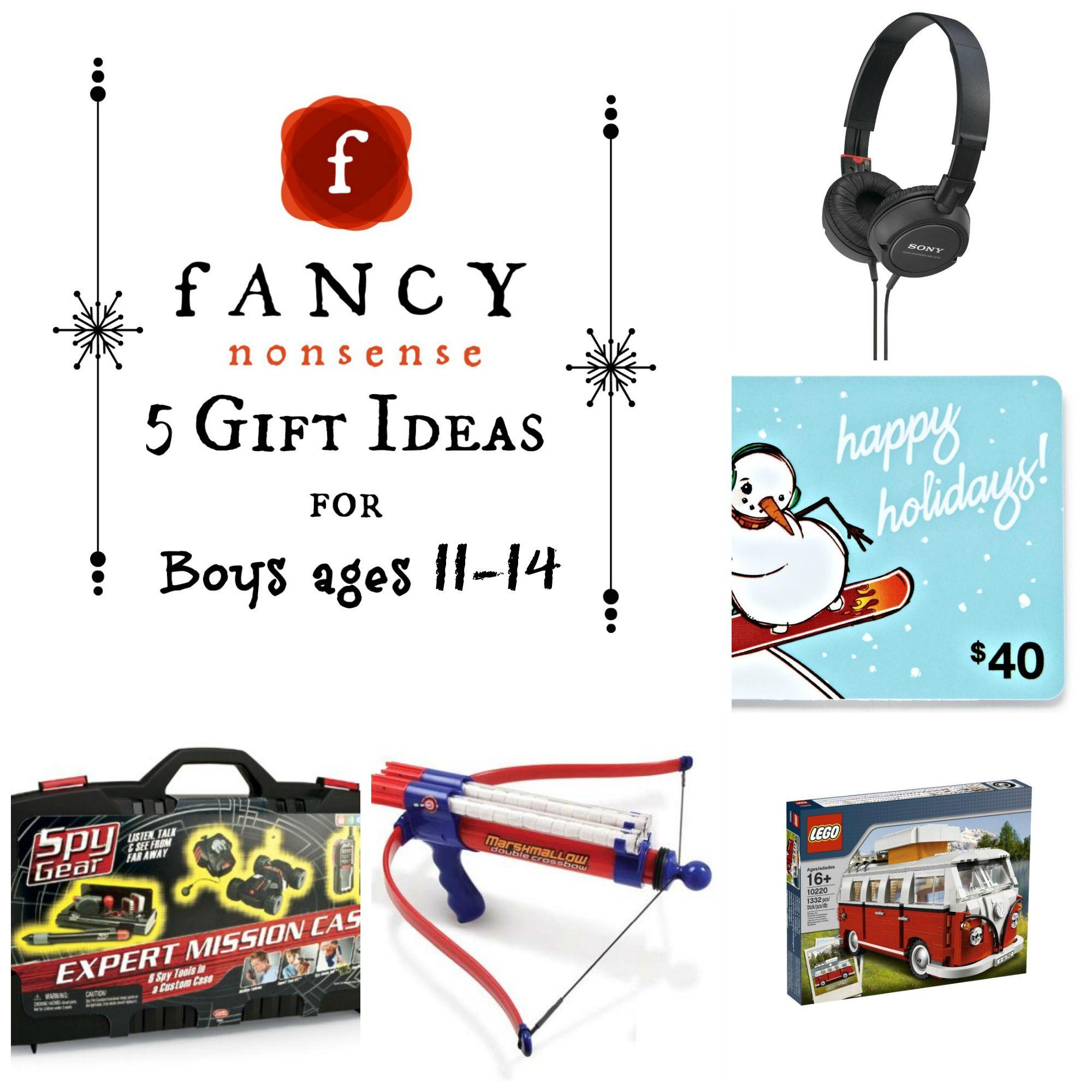 Gift Ideas For Boys Age 5  5 Gift Ideas For Boys Ages 11 15