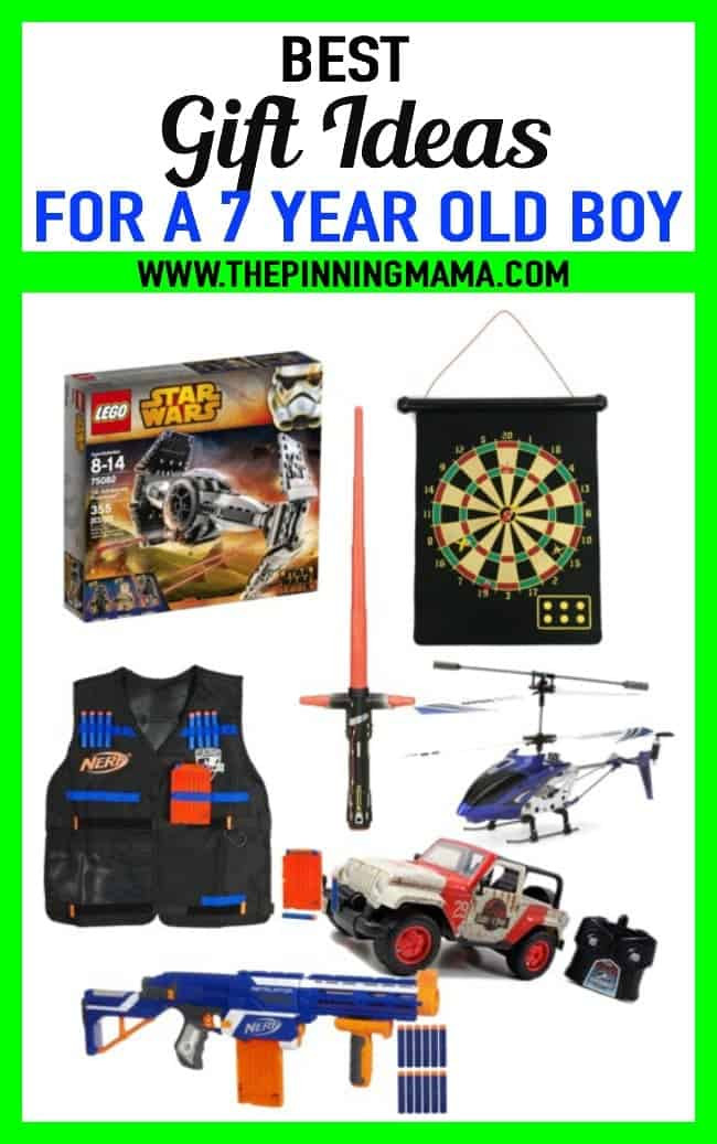 Gift Ideas For Boys  BEST Gift Ideas for a 7 Year Old Boy • The Pinning Mama