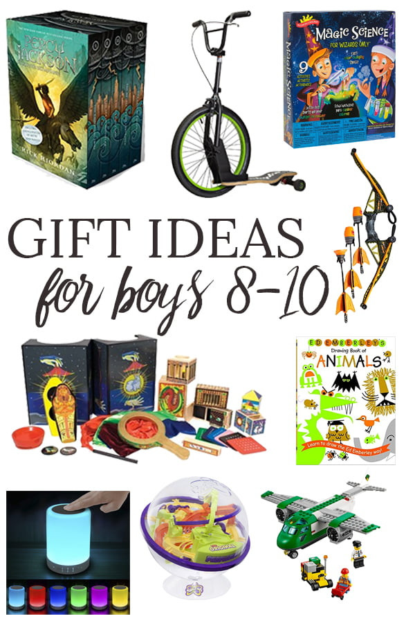 Gift Ideas For Boys  Gift Ideas for Boys Ages 8 10