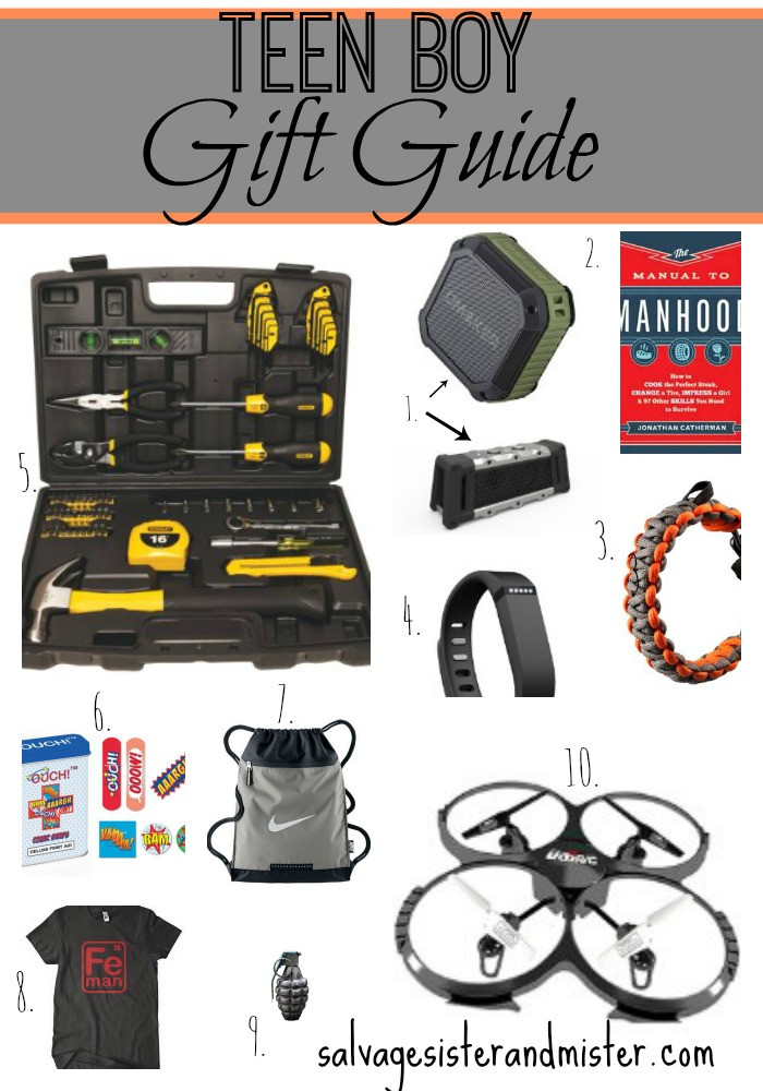 Gift Ideas For Boys  Teen Boy Gift Guide Salvage Sister and Mister