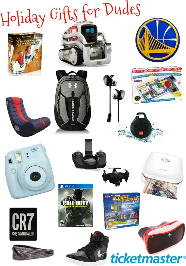 Gift Ideas For Boys  Holiday Gift Guide 2016 Dude Approved Gifts for Boys