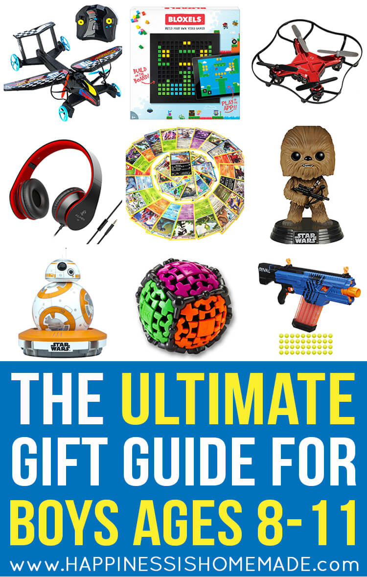Gift Ideas For Boys  The Best Gift Ideas for Boys Ages 8 11 Happiness is Homemade
