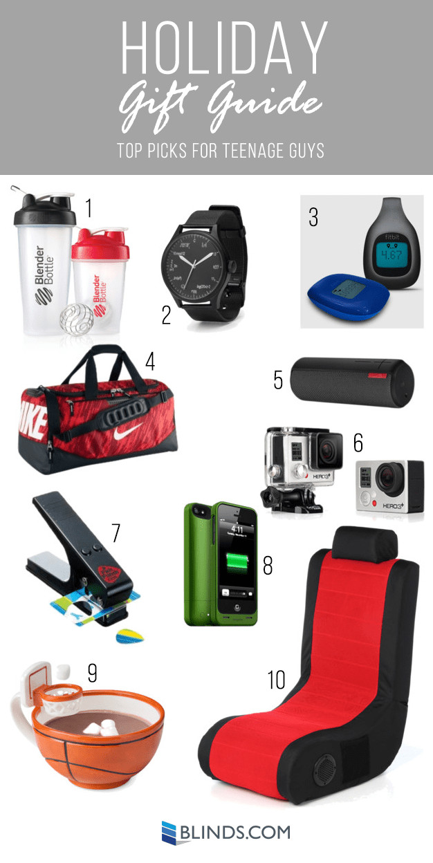 Gift Ideas For Boys  Holiday Gift Guides Gift Ideas for Teenagers The