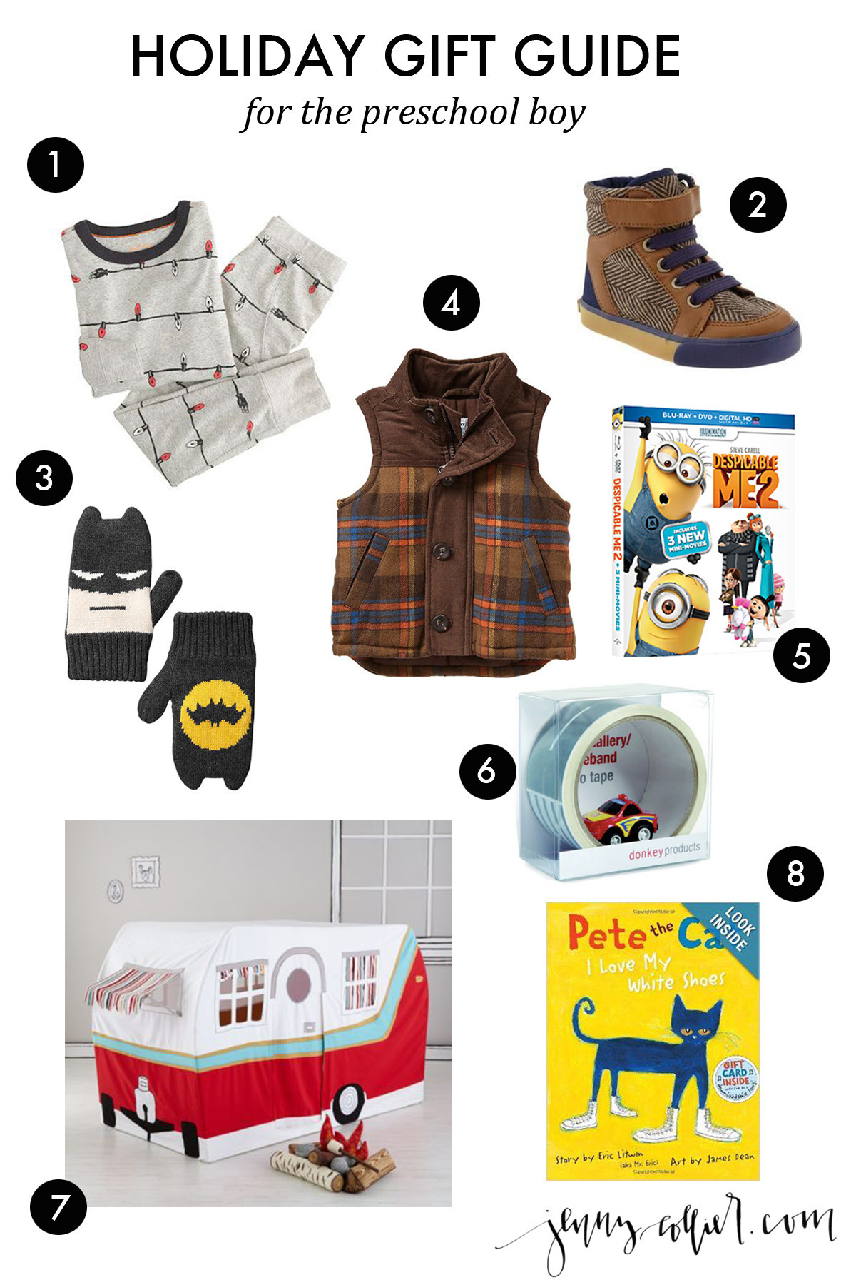 Gift Ideas For Boys  Holiday Gift Ideas for Boys jenny collier blog