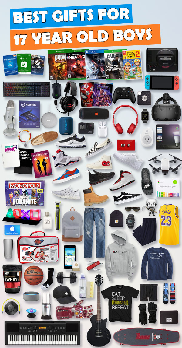 Gift Ideas For Boys  Gifts For 17 Year Old Boys [Gift Ideas for 2019]