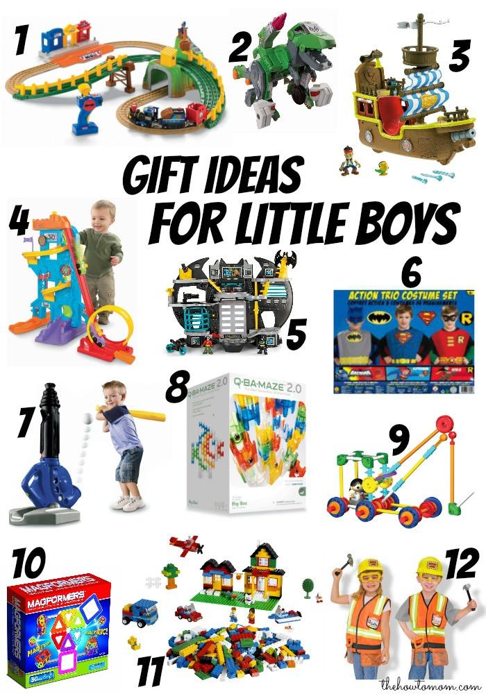 Gift Ideas For Boys  Christmas t ideas for little boys ages 3 6 The How