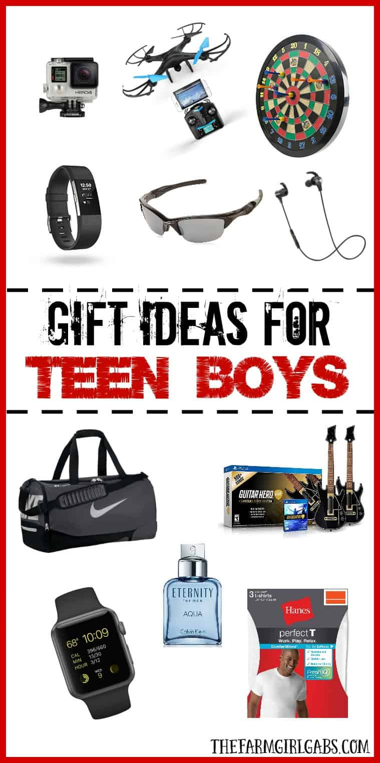 Gift Ideas For Boys  Gift Ideas For Teen Boys The Farm Girl Gabs