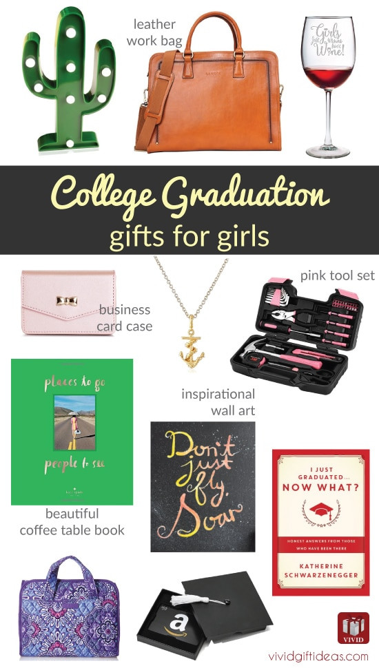 Gift Ideas For College Girls  12 Best College Graduation Gifts for Girls Graduates