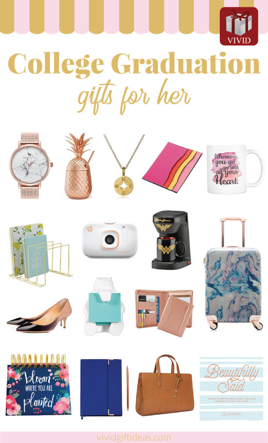 Gift Ideas For College Girls  19 Unique College Graduation Gift Ideas for Girls Vivid s