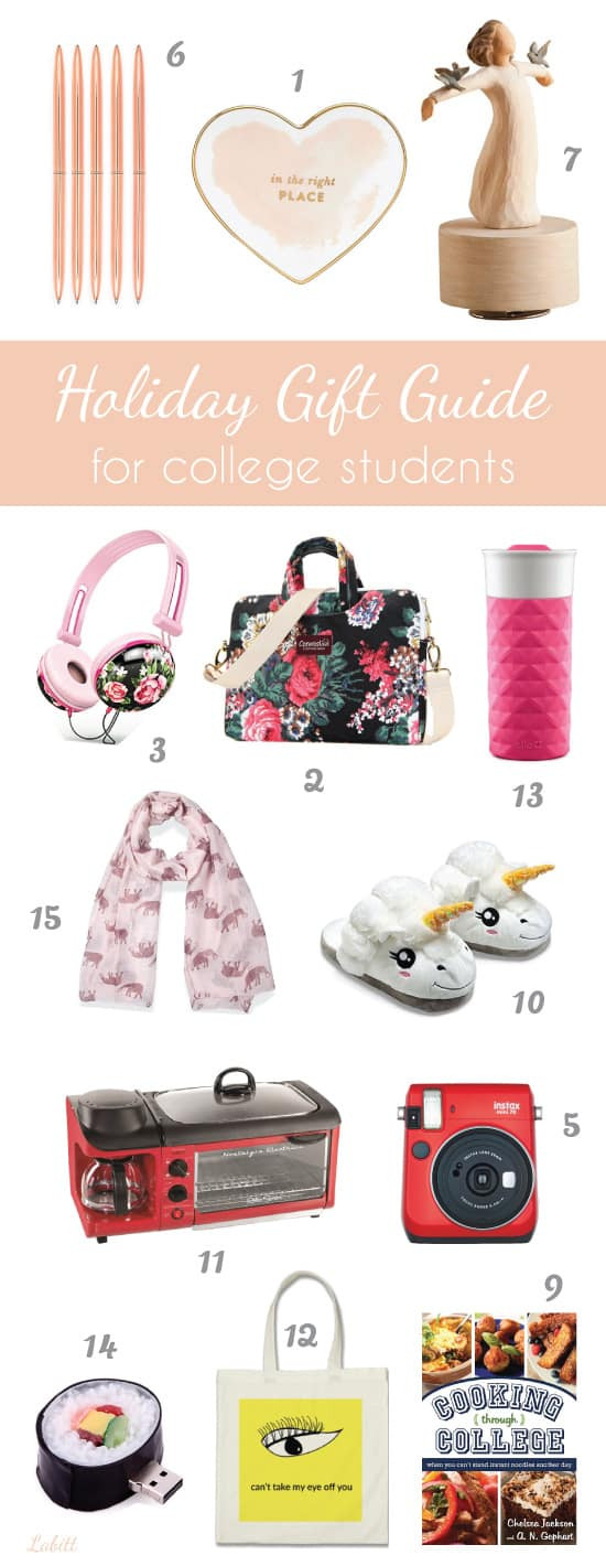 Gift Ideas For College Girls  Christmas Holiday Gift Ideas for College Students