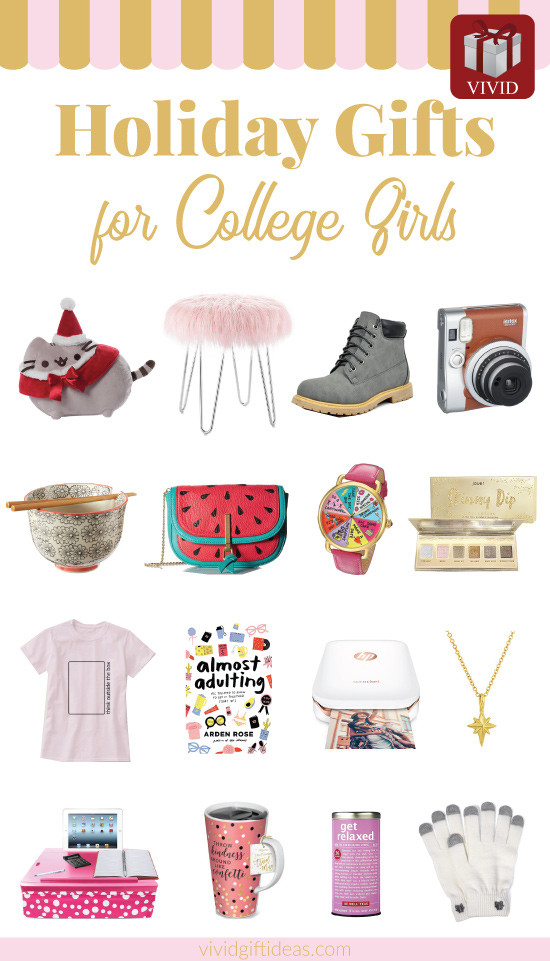 Gift Ideas For College Girls  18 Best Christmas Gifts for College Girls