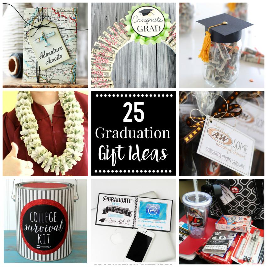 Gift Ideas For College Graduation  25 Graduation Gift Ideas
