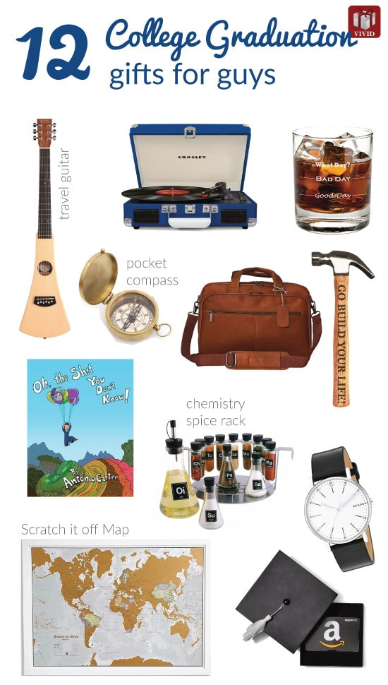Gift Ideas For College Graduation  12 Best College Graduation Gifts for Guys Graduates
