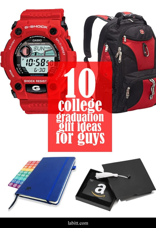 Gift Ideas For College Graduation  10 College Graduation Gift Ideas Guys LOVE [Updated 2019]