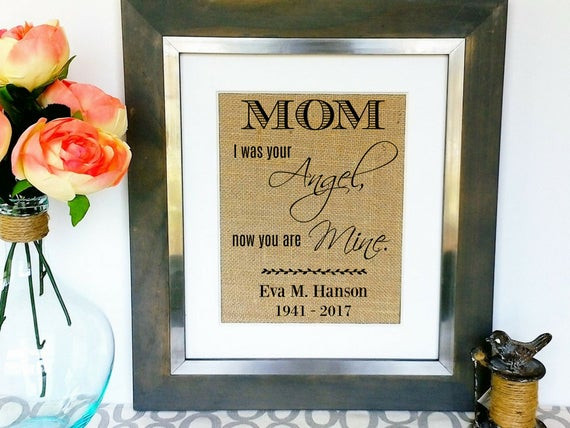 Gift Ideas For Death Of Mother  DEATH OF MOM Sympathy Gifts Men Sympathy Gift for Loss of