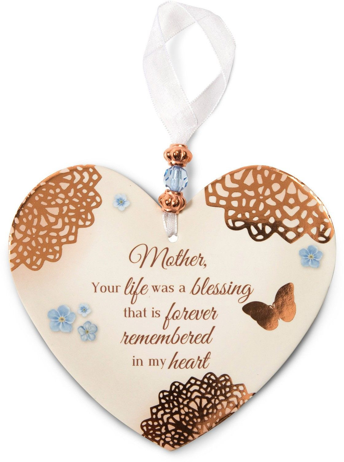 Gift Ideas For Death Of Mother  Remembrance Ornament Loss of Mother