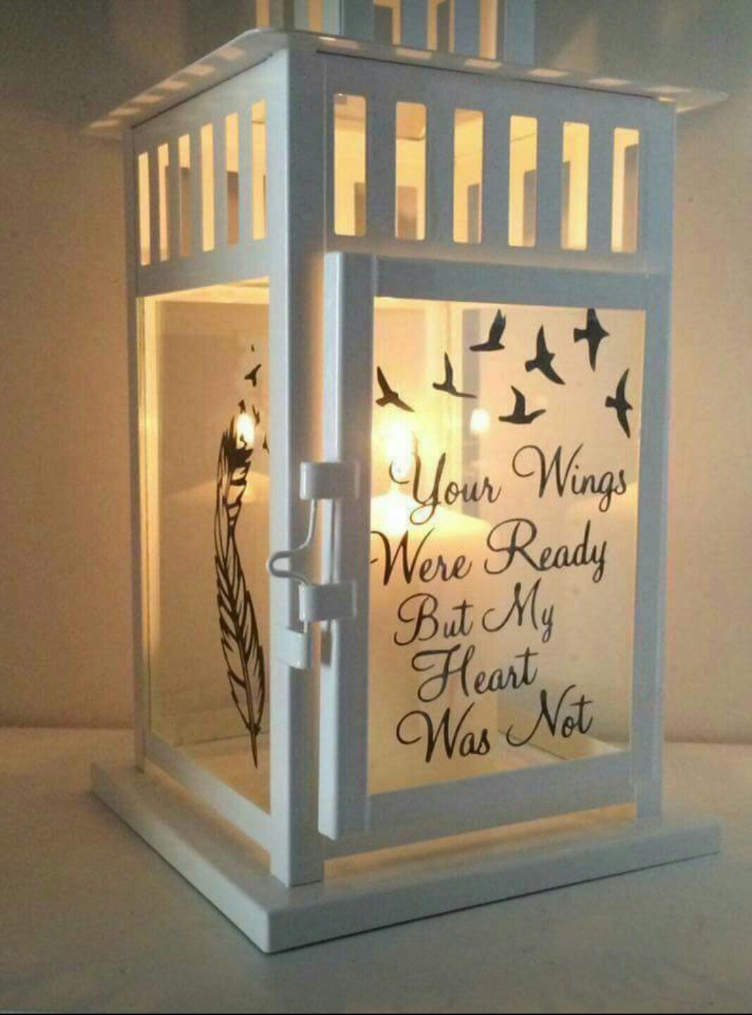 Gift Ideas For Death Of Mother  Remembrance Lantern