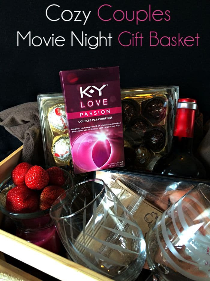 Gift Ideas For Eloped Couple  Cozy Couples Movie Night Gift Basket Moments With Mandi