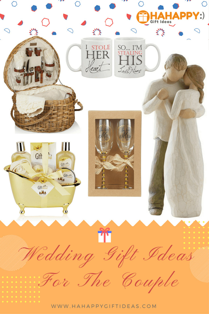 Gift Ideas For Eloped Couple  Unique Wedding Gifts for Couples