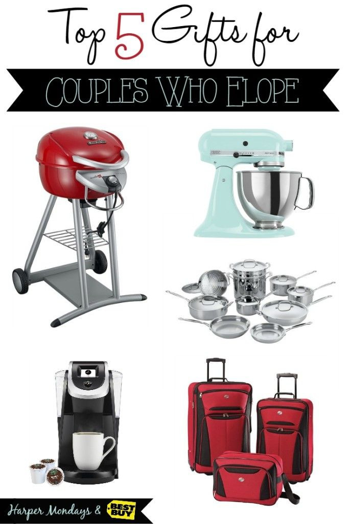 Gift Ideas For Eloped Couple  Top 5 Gifts for Couples Who Elope and 5 Things to Do When