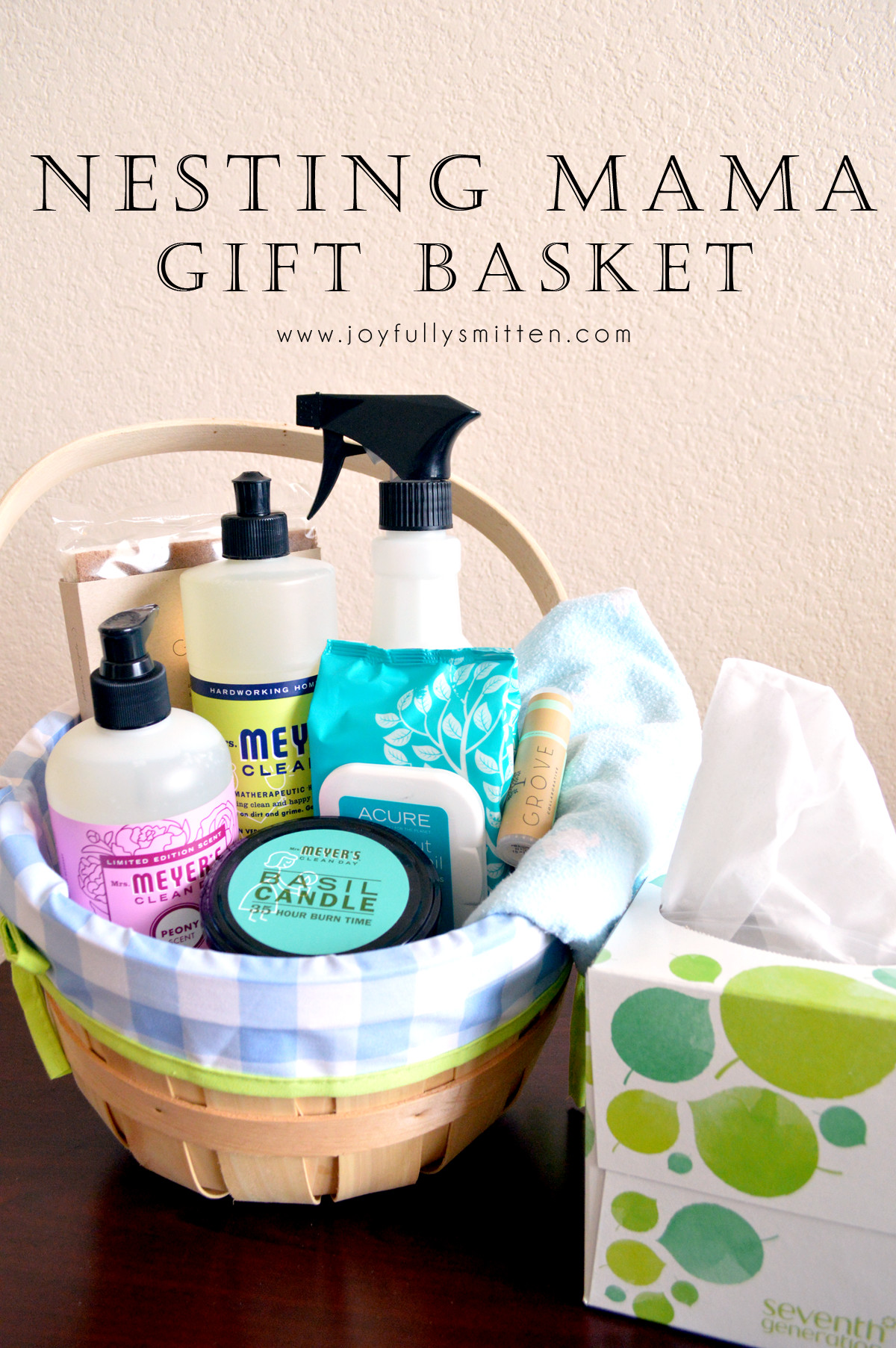 Gift Ideas For Expecting Mother  DIY Nesting Mama Gift Basket Joyfully Smitten