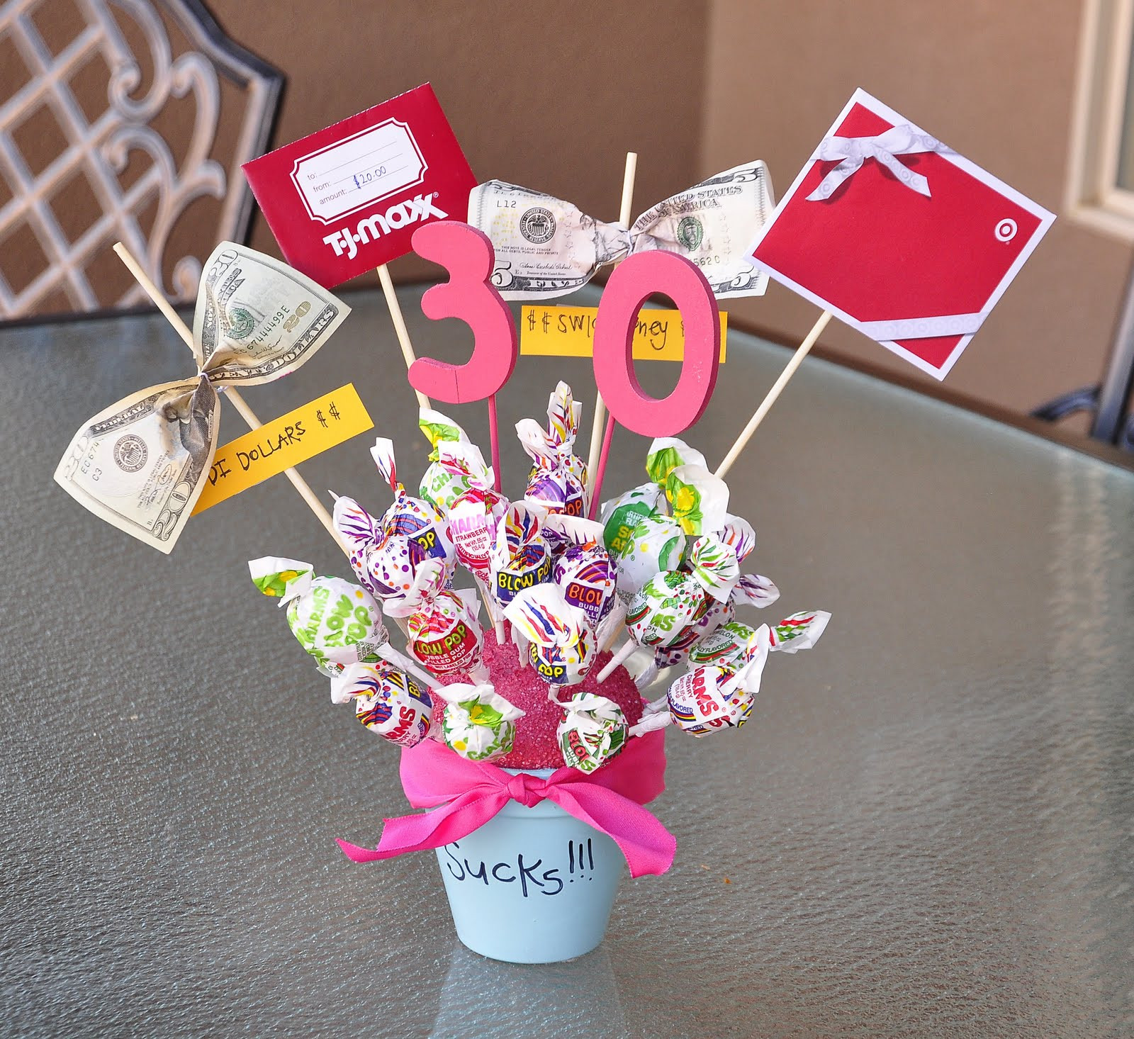 Gift Ideas For Friends Birthday Female  30th Birthday Party