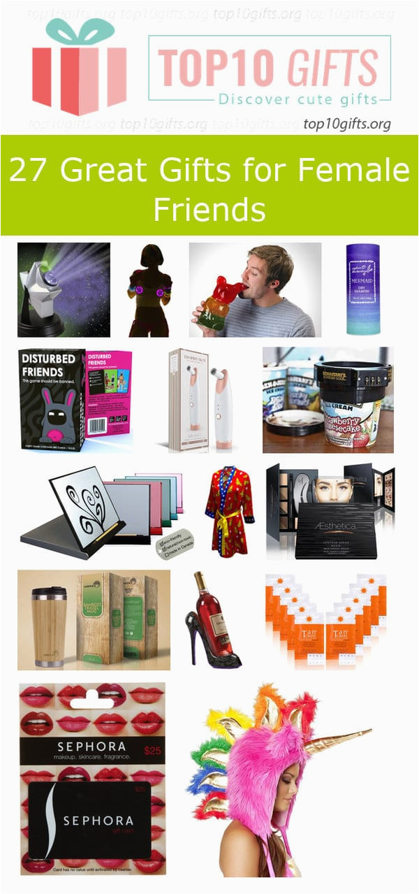 Gift Ideas For Friends Birthday Female  Birthday Gifts for Best Friends Female
