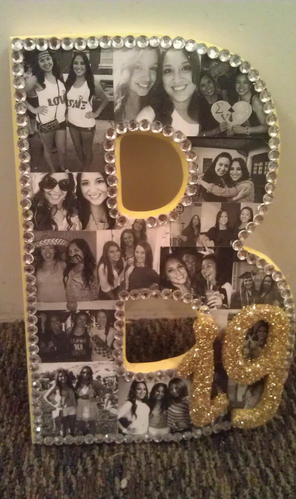 Gift Ideas For Friends Birthday Female  Sorority Crafting