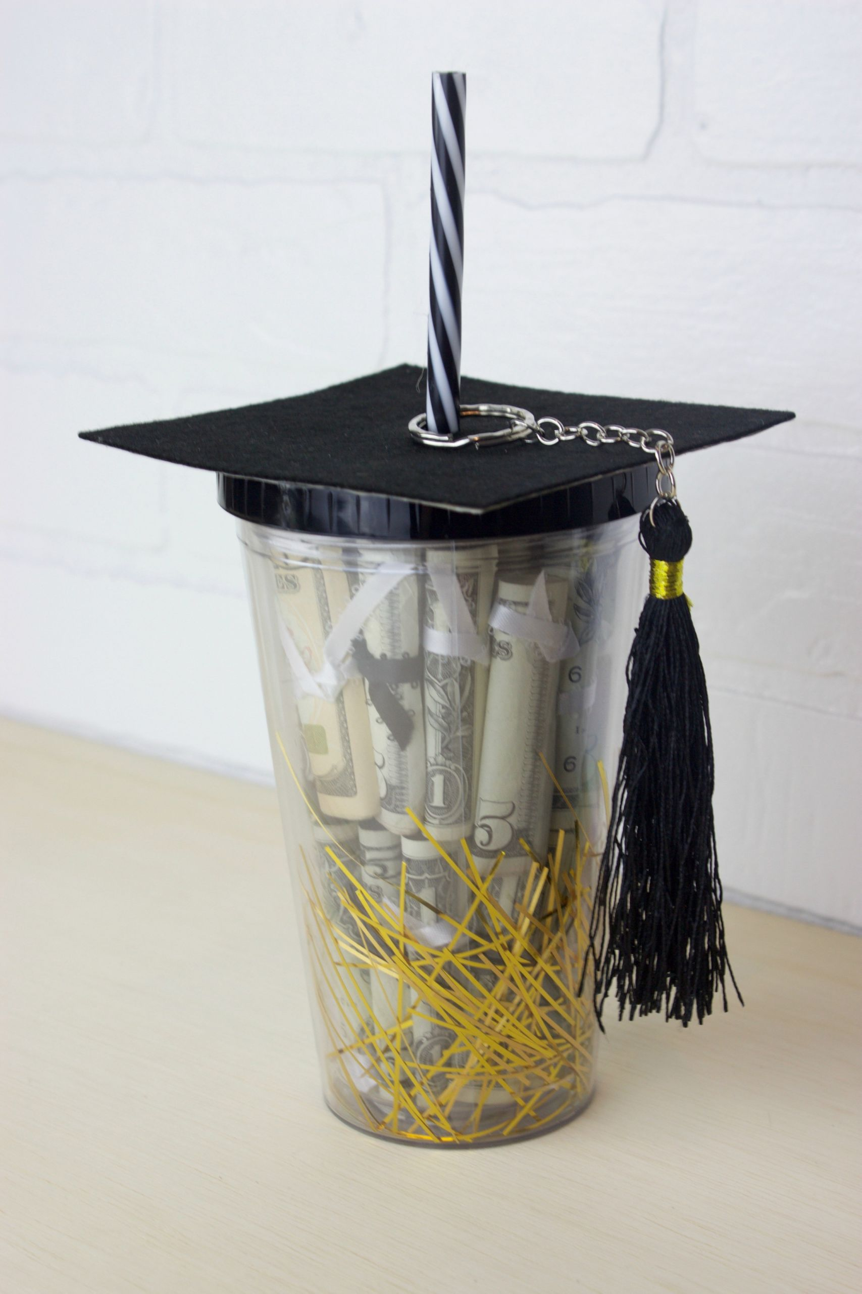 Gift Ideas For Graduation  DIY Graduation Gift in a Cup
