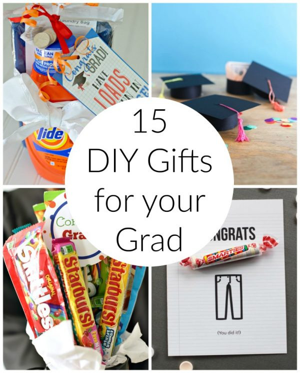 Gift Ideas For Graduation  15 DIY Graduation Gift Ideas for your grad