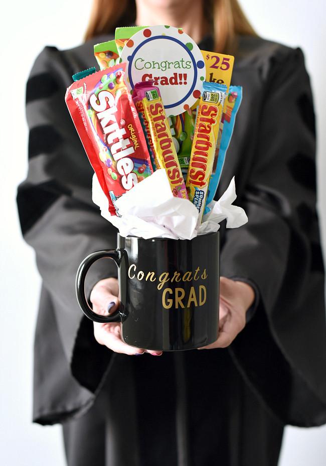 Gift Ideas For Graduation  Fun Graduation Gift Candy Bouquet – Fun Squared