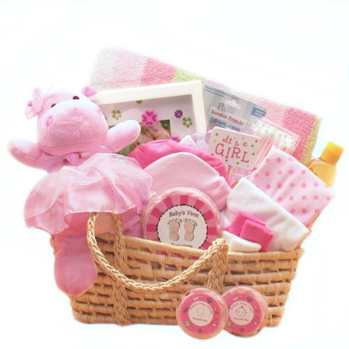 Gift Ideas For New Baby Girl  For a Precious New Baby Girl Gift Basket Great Shower
