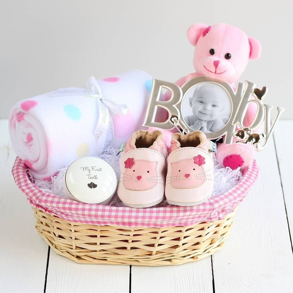 Gift Ideas For New Baby Girl  10 Lovable Baby Girl Gift Basket Ideas 2019