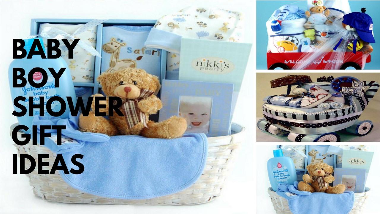 Gift Ideas For Newborn Baby Boy  Baby Boy Shower Gift Ideas