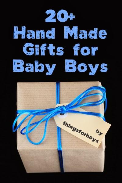 Gift Ideas For Newborn Baby Boy  20 Handmade Gift Ideas for Baby Boys