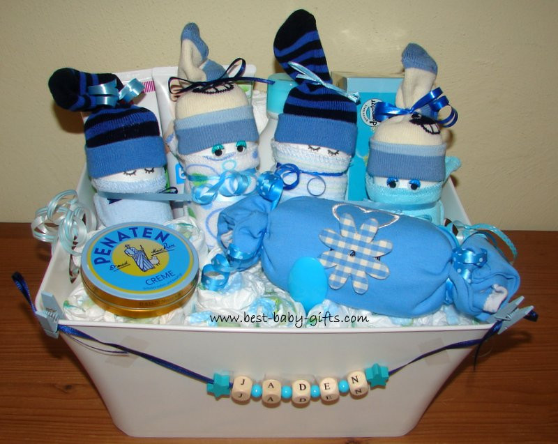 Gift Ideas For Newborn Baby Boy  Newborn Baby Gift Baskets how to make a unique baby t