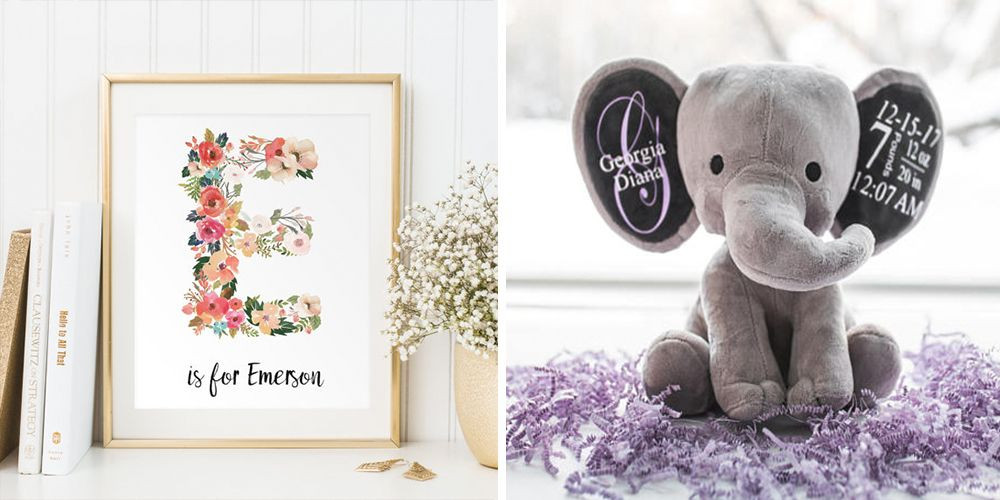 Gift Ideas For Newborn Baby Boy  10 Best Personalized Baby Gifts for New Parents