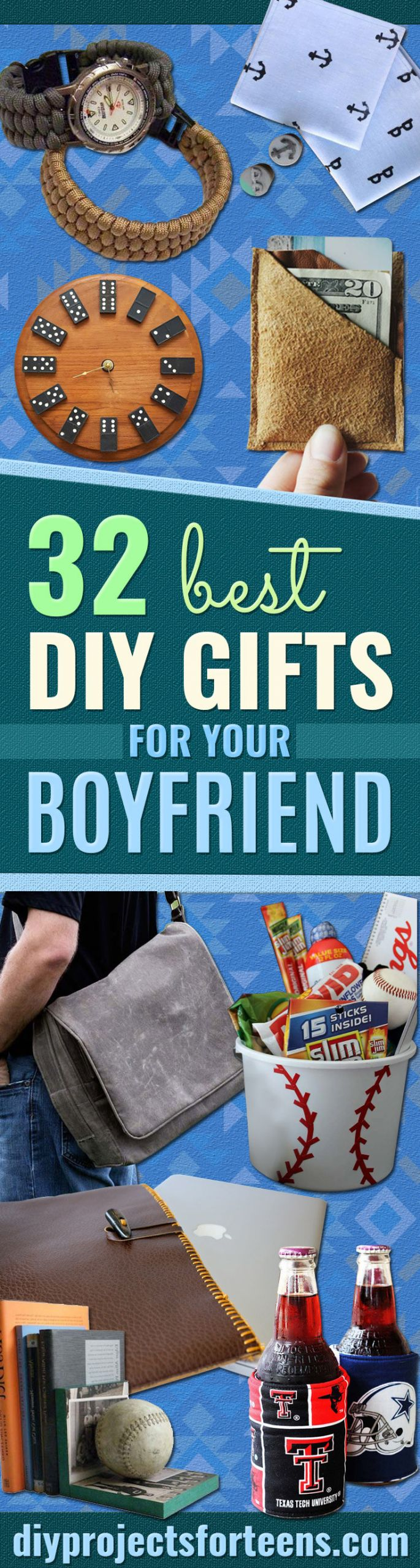 Gift Ideas For Teen Boyfriend  32 Awesome DIY Gifts for Your Boyfriend DIY Projects for
