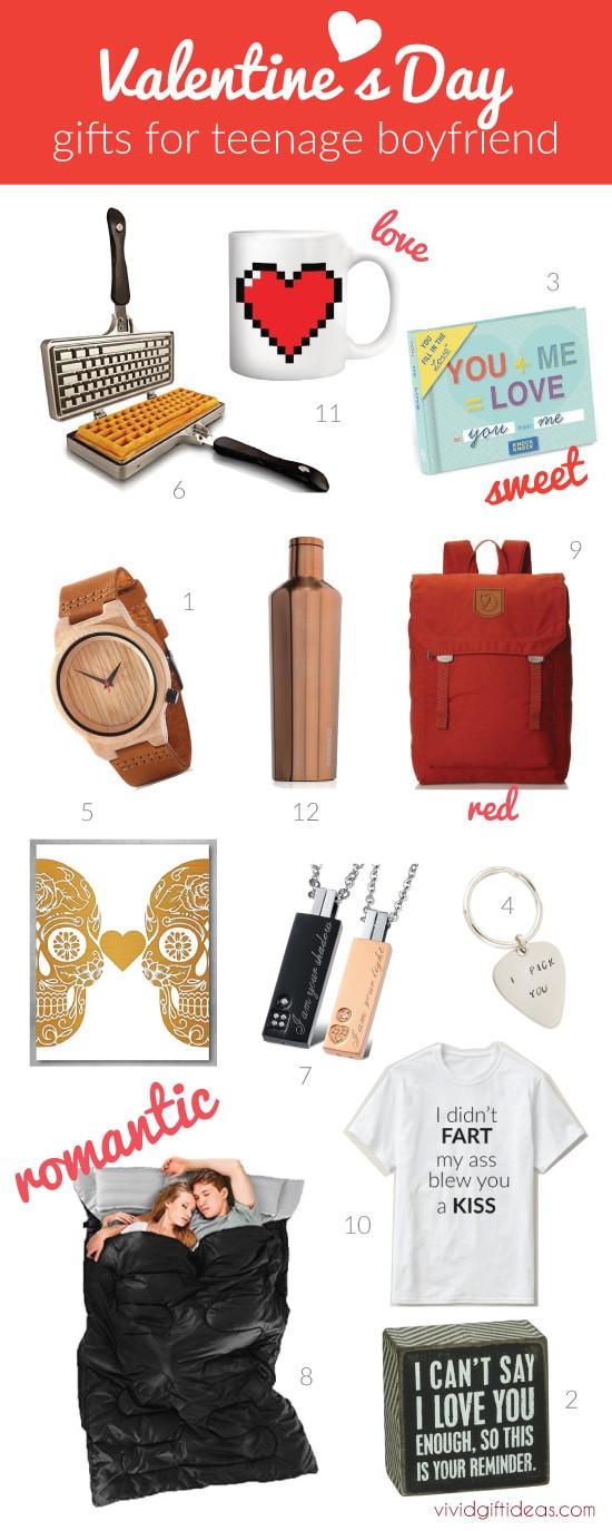 Gift Ideas For Teen Boyfriend  Best Valentines Day Gift Ideas for Teen Boyfriend Vivid