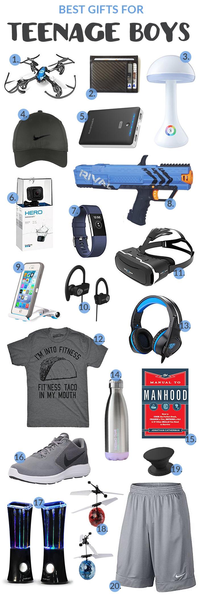 Gift Ideas For Teen Boyfriend  Best Gifts for Teenage Boys